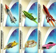 Thunderbirds the Movie Full 6 Card NEC Preview Card Set from Cards Inc