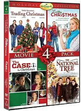 Hallmark Holiday 4 movie NEW DVD (The National Tree, A Case For Christmas, Lucky