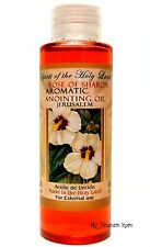 Aromatic Anointing Oil Rose of Sharon Blessed in Jerusalem Holy Land Oil 2 fl.oz