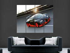 BUGATTI VEYRON SUPER SPORT CAR ART WALL LARGE IMAGE GIANT POSTER