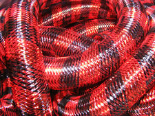 BLACK RED METALLIC STRIPE TUBULAR CRIN CYBERLOX