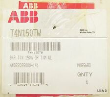 ABB T4N150TW 3 Pole 150 Amp BKR T4N 150A 3P SACE T MAX Breaker