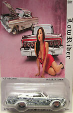 "Hot Wheels CUSTOM '65 CHEVY IMPALA ""Lowrider"" Real Riders Limited 1/5 Made!"