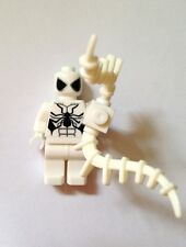 WHITE SPIDERMAN  Minifigure from MARVEL NEW Fits Lego UK SELLER