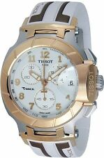Tissot T-Race Chronograph Silicone Mens 50.26 mm x 45.3 mm Watch T0484172701200