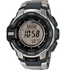 CASIO Men's PRG-270D-7CR Pro Trek Triple Sensor Solar Powered Three Engine Watch