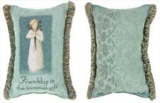 Willow Tree Friendship Angel Tapestry Word Pillow
