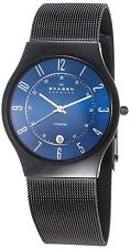 Skagen Men's T233XLTMN 'Signature' Black Titanium Watch