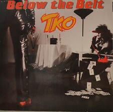 TKO - BELOW THE BELT -  LP (S 725)
