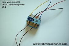 FAB V8 Outstanding BV8 Transformer for U47 Microphone Neumann Style clones etc..