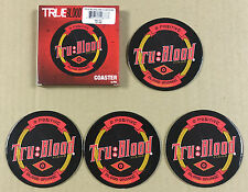 Licensed True Blood Tru Beverage HBO Drink Coasters - Beer - desktop NEW 4 PACK