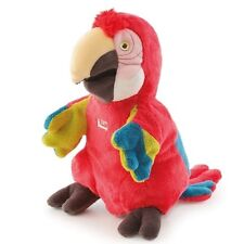 New Trudi Plush Hand Puppet with Tags - Parrot Plushie Toy Approx 25cms - 30cms