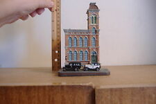 ~EAST CHICAGO AVENUE POLICE STATION~CHICAGO ILLINOIS~DANBURY MINT SCULPTURE