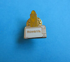 Rowenta Toaster pin badge, VGC. Hard Enamel.