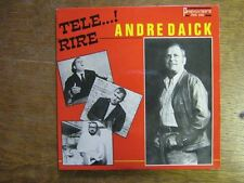 ANDRE DAICK EP FRANCE TELE RIRE