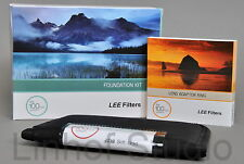 Lee Filters Foundation Holder Kit, 0.9ND Grad Soft Filter & 62mm Wide Adapter