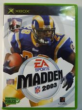XBOX CLASSIC GAME Madden 2003 FRANZ ENGL used but GOOD