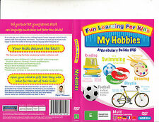 Fun Learning For Kids-My Hobbies-A Vocabulary Builder DVD-2009-Baby-DVD