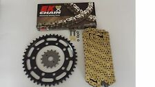 SUZUKI GSXR1300 HAYABUSA SPROCKET & EK GOLD SRO-Z O-RING CHAIN SET/KIT 17/45