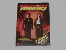 NEW Angel of Vengeance DVD w/ T-SHIRT Classic 1993 Hong Kong Kung Fu Movie R1