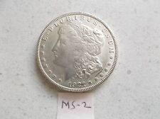1921 MORGAN USA SILVER ONE DOLLAR COIN E. PLURIBUS UNUM  $ 1.00 MORGAN  BRIGHT