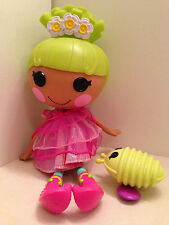 """Lalaloopsy Pix E Flutter Fairy Doll Full Size 14"""" Florescent Green Hair Toy"""