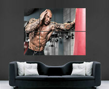 DAVE BAUTISTA POSTER WWE MARTIAL ARTS ACTOR WEIGHTLIFTING GYM PICTURE WALL ART