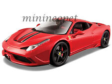 BBURAGO 18-16903 SIGNATURE SERIES FERRARI 458 SPECIAL 1/18 DIECAST MODEL RED