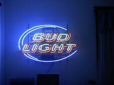 "New Budweiser Bud Light Beer Neon Sign 17""x14"" Ship From USA"