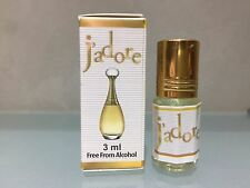 Jadore 3ml (0.10 oz.) pure perfume oil Without Alcohol! J'Adore