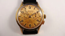 LEMANIA UTI 105 chronograph vintage watch handwinder SERVICED