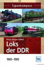 Fachbuch Loks der DDR 1949-1990, Typenkompass, Deutsche Reichsbahn, viele Infos