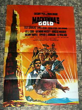 GREGORY PECK * MACKENNAS GOLD - A1-EA-Filmposter - German 1-SHEET 1969