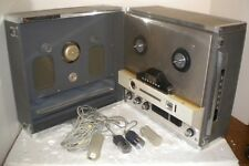 Concord 884 Stereo Reel to Reel Tape Recorder + 2 Orig Dynamic Mics # WM-2006H