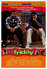 """""""FRIDAY"""" Movie Poster [Licensed-NEW-USA] 27x40"""" Theater Size (ICE CUBE)"""