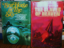 2 EDMUND COOPER, SEA HORSE IN THE SKY 1969, THE SLAVES OF HEAVEN 1974, HB/DJ