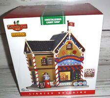 New Coventry Cove by Lemax Christmas Village Building Sweetalicious Candy Shop