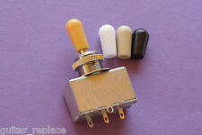 Selector Cuadrado 3 Posiciones Guitarra SG 335 Switch 3 Positions Chrome