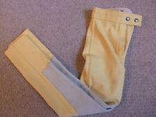 French Sportswear Canary Yellow Girls Showing Jodphurs size 26R age 8/9 approx