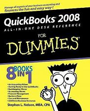 QuickBooks 2008 All-in-One Desk Reference for Dummies by Stephen L. Nelson 2008