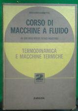CORSO DI MACCHINE A FLUIDO VOL.II - GIOVANNI CORBETTA - PARAVIA