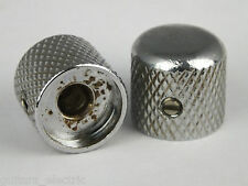 Vintage Relic AGED DOME KNOBS Screw Fit for early 50's Tele TELECASTER guitars