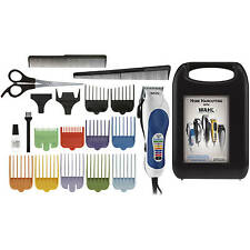 Complete Hair Cutting Kit Wahl Color Pro  20 Piece Set NEW Free Shipping!!!
