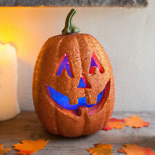 Halloween citrouille couleur changeante lumière bureau table de fête porche fenêtre décoration