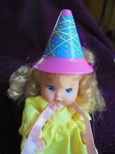 Mattel Heart Family Doll Girl Toddler Birthday Hat Party Dress 2382 1986 Taiwan