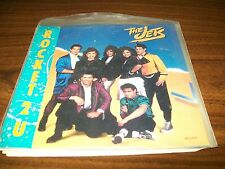 "The Jets-Rocket 2 U-Our Only Chance-7"" 45-MCA-Vinyl Record-Pic Sleeve-VG+"