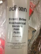3 Adixen direct drive mechanical vacuum pump fluid 1 liter Alcatel 200  A-200