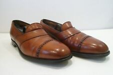 Men's Edward Green Loafers Brown England Hand Made  US 9 EUR 42 Narrow B