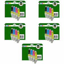 20 Ink Cartridges for Epson S21 SX100 SX105 SX110 SX115 non-original E711-4