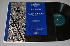 "KURT REDEL J.S. Bach Cantatas 12"" Vinyl LP Westminster XWN-18755 ~s"